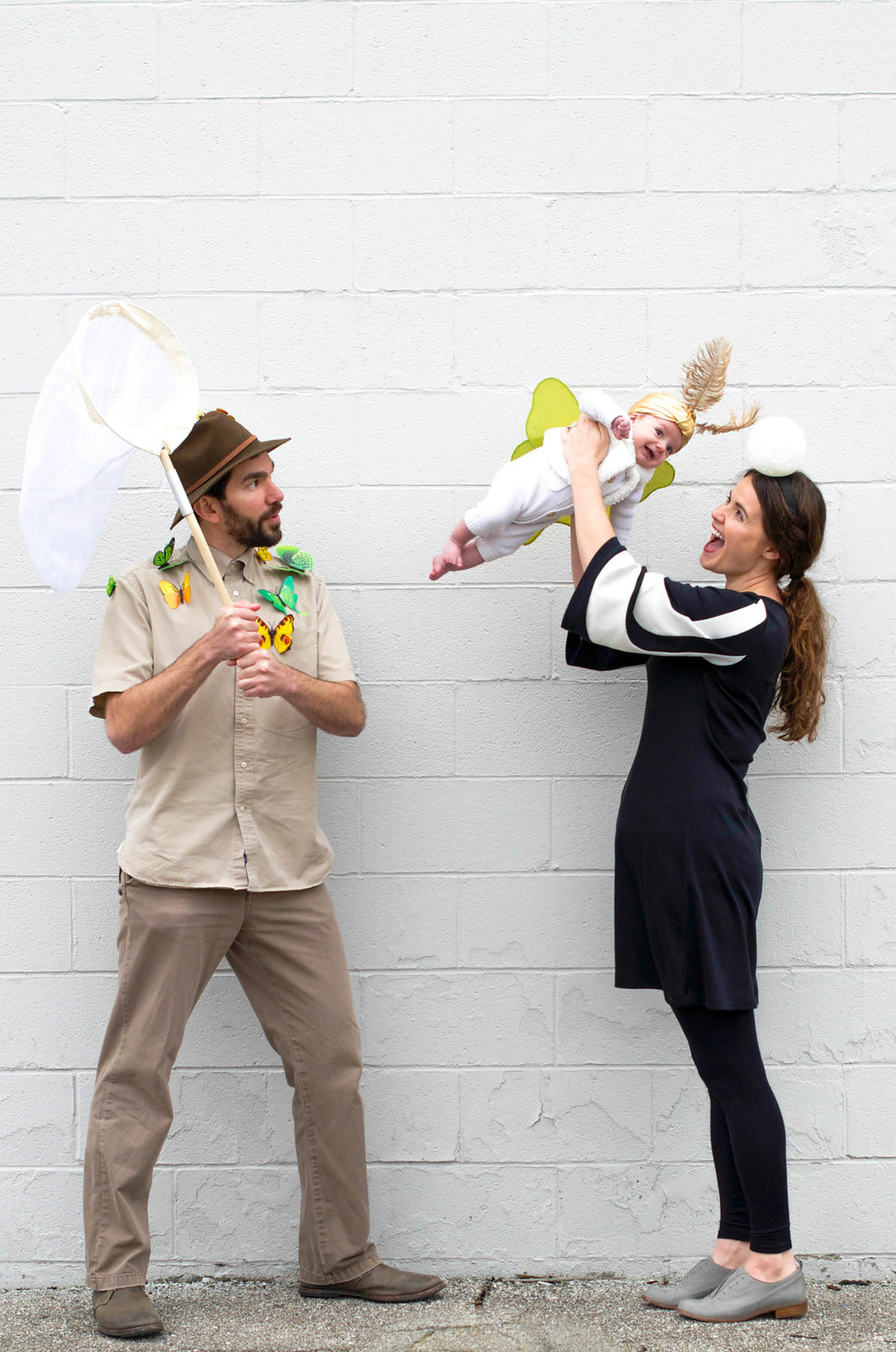 Baby Mother and Father Halloween Costume Luna Moth Entomologist Moon (2 of 12).jpg