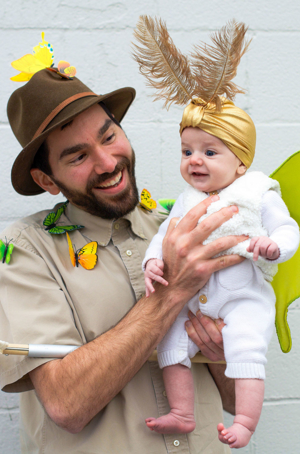 Baby Mother and Father Halloween Costume Luna Moth Entomologist Moon (6 of 12).jpg