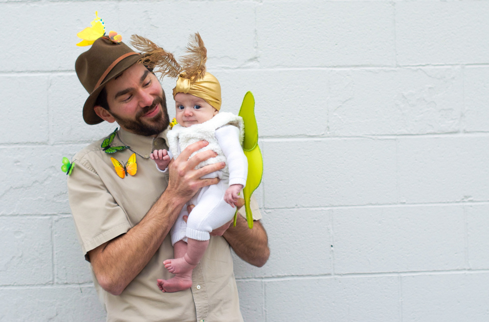 Baby Mother and Father Halloween Costume Luna Moth Entomologist Moon (5 of 12).jpg