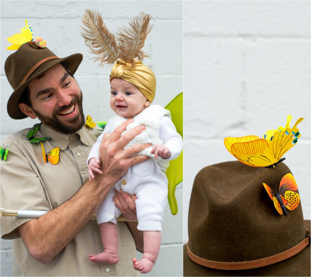 Baby Mother and Father Halloween Costume Luna Moth Entomologist Moon (11 of 12).jpg