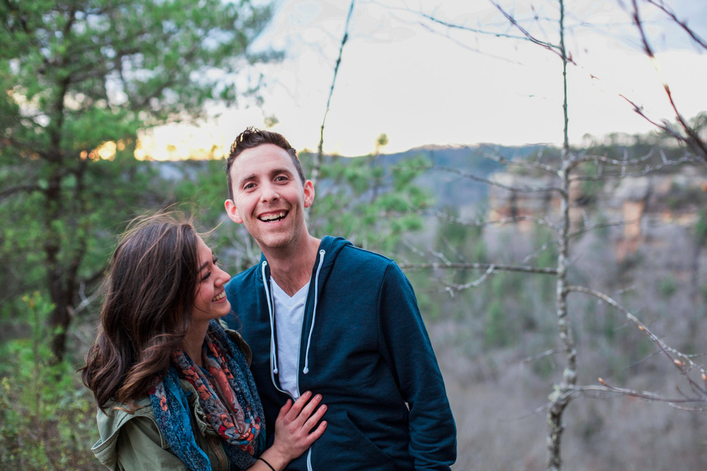 Dustin + Gabi Engagement Photo Shoot - Red River Gorge KY Engagement Photo Shoot (1 of 20).jpg