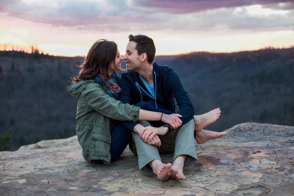 Dustin + Gabi Engagement Photo Shoot - Red River Gorge KY Engagement Photo Shoot (11 of 20).jpg