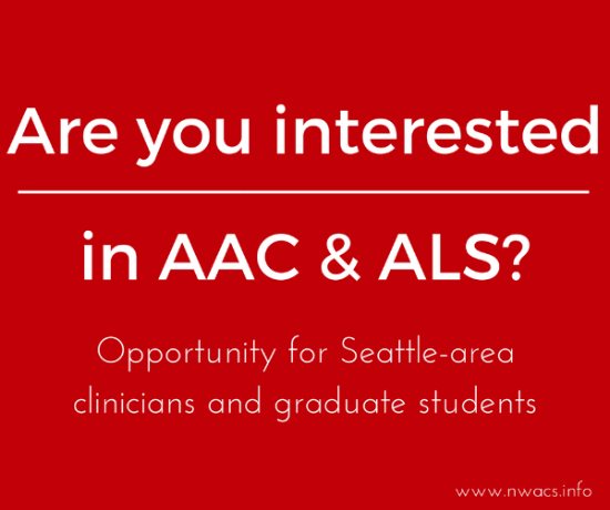 AAC & ALS Course Opportunity