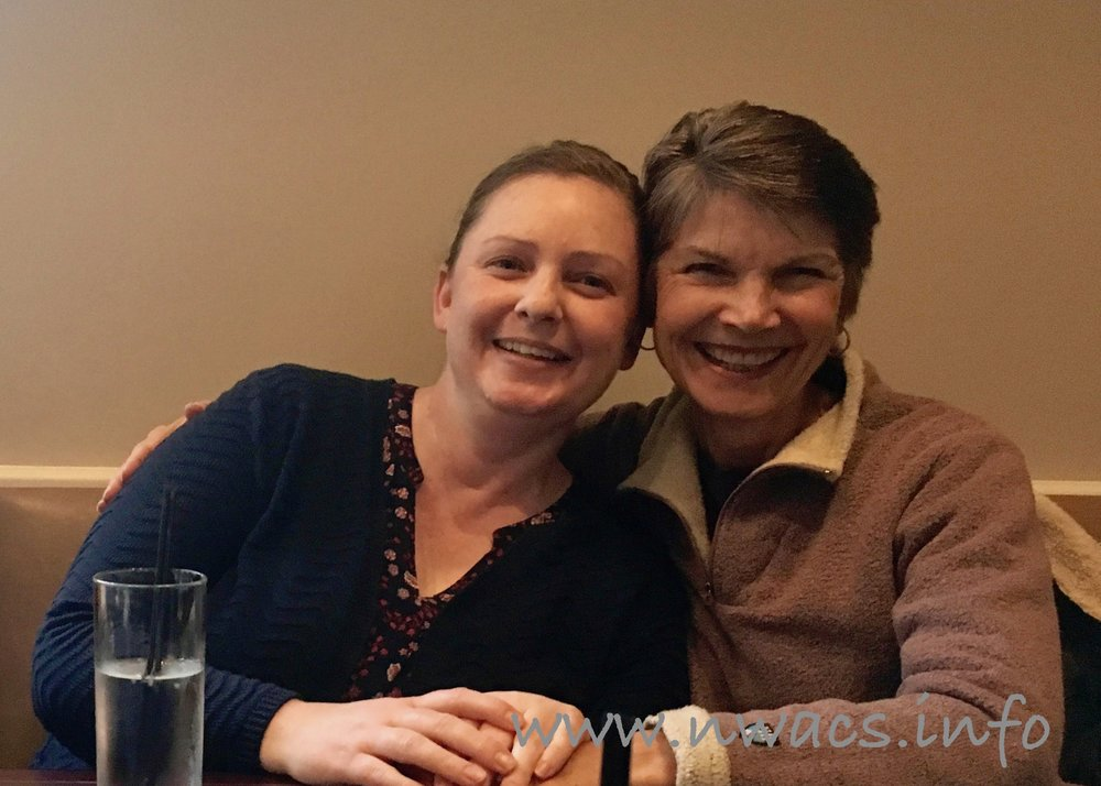 NWACS Board members Casey & Kathy