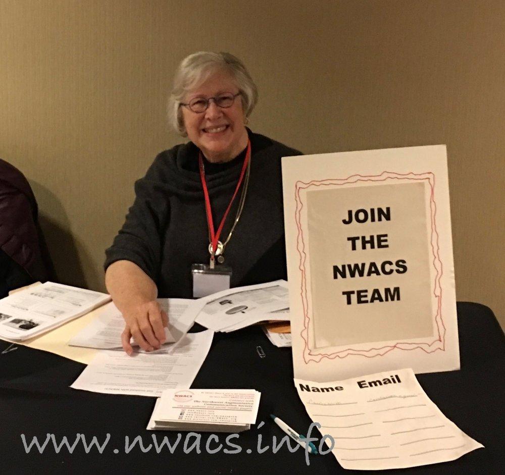 NWACS Board member Georgia