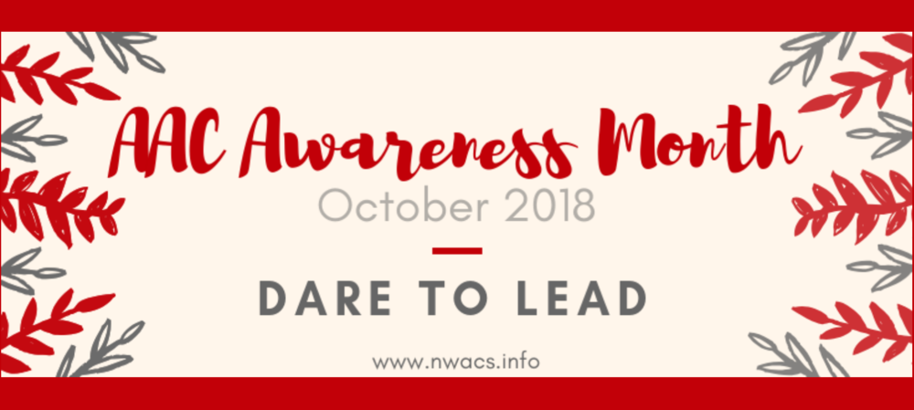 AAC Awareness Month, October 2018