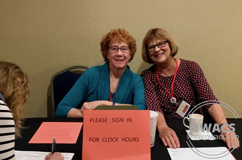 NWACS Board members Paula & Sandy