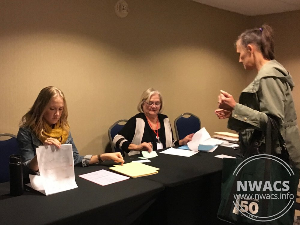 NWACS Board members Tessa & Mary Lee