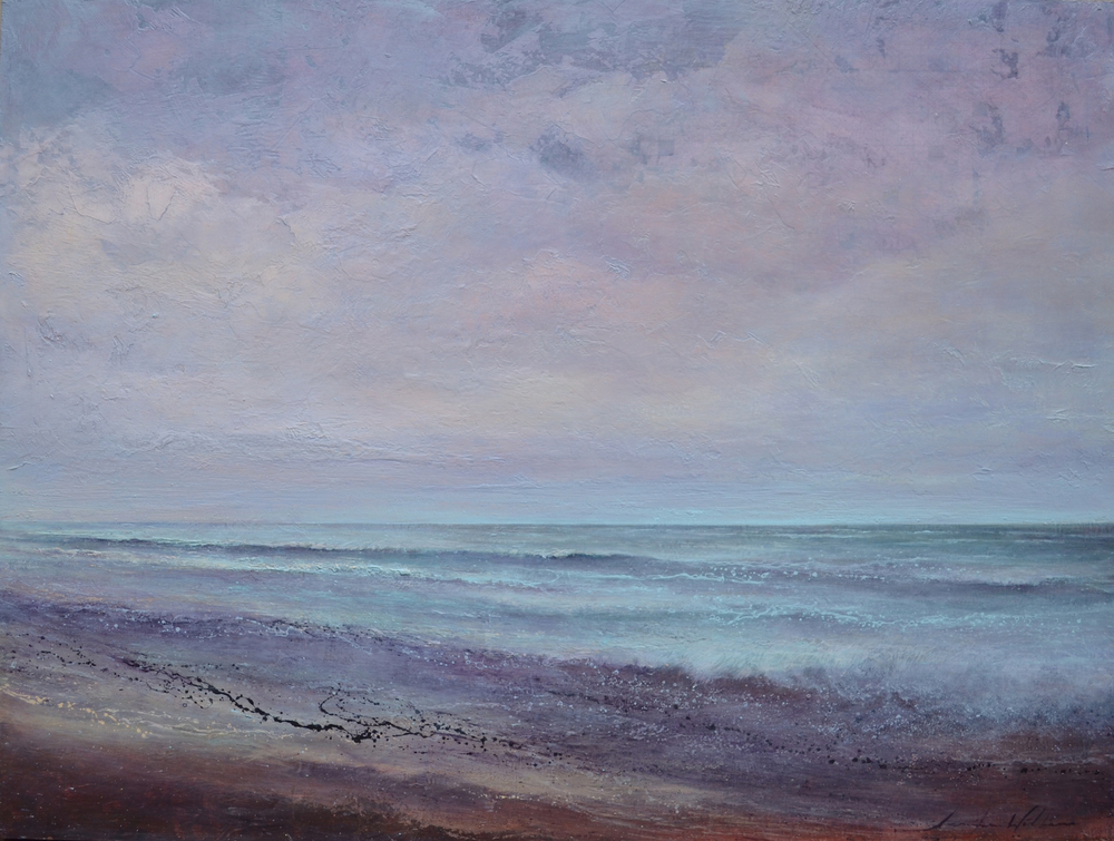 "Eventide, 36""x48"", sold"