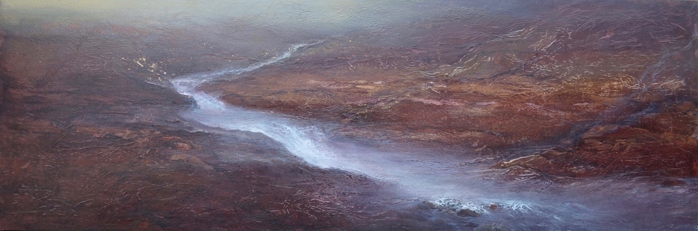 "Momentum, 24""x72"", SOLD"