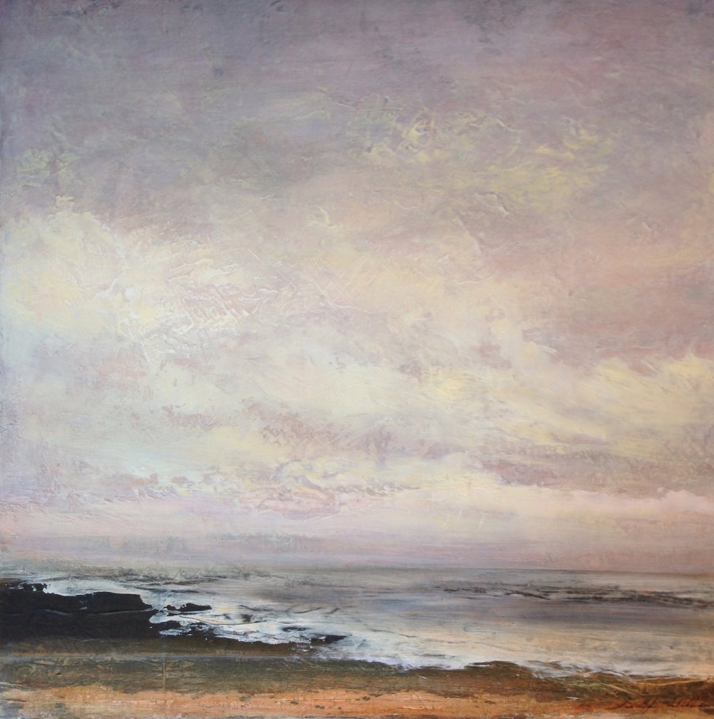 "Amber Waves , 30""x30"" sold"