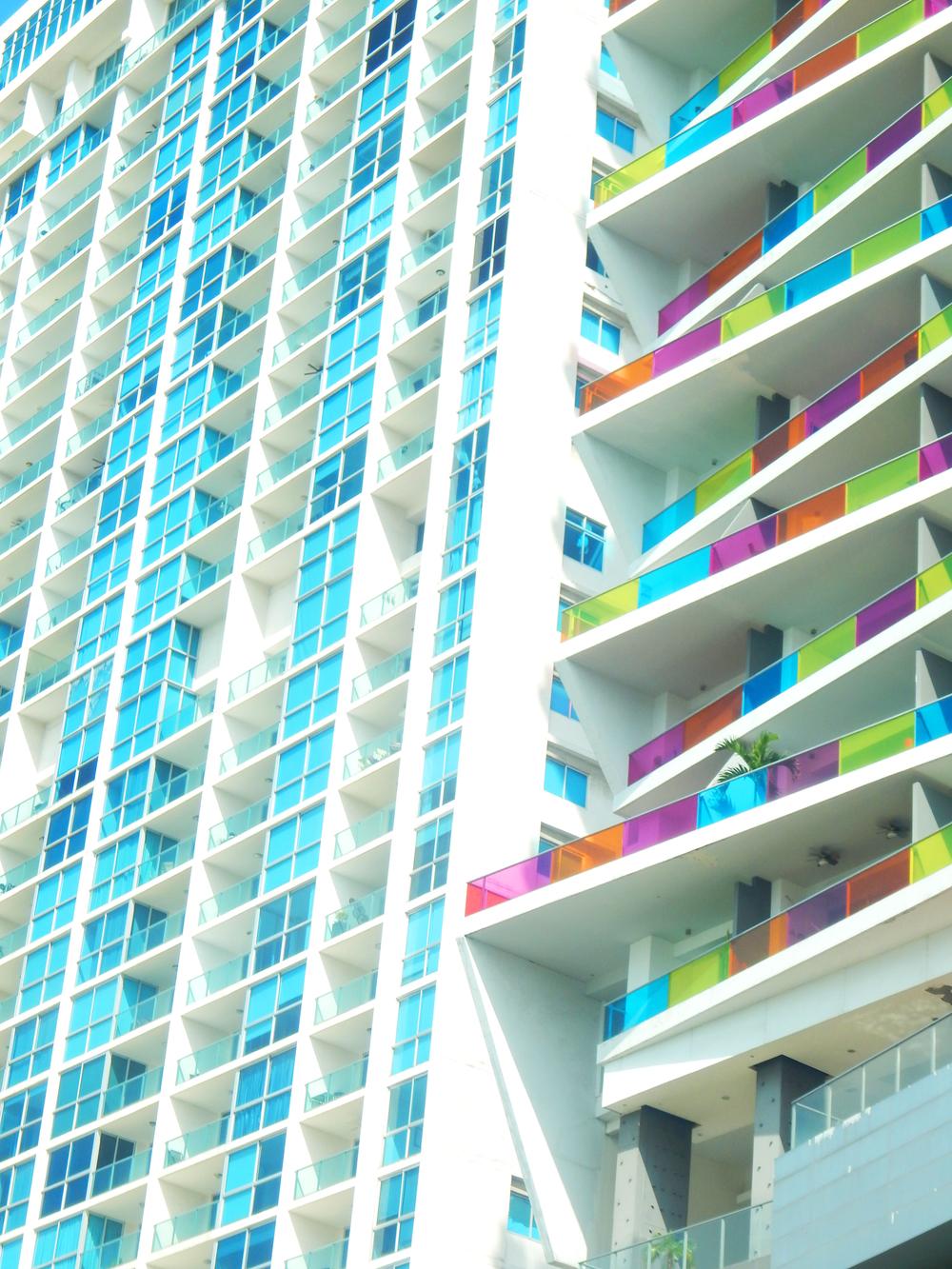 Ventanas de colores