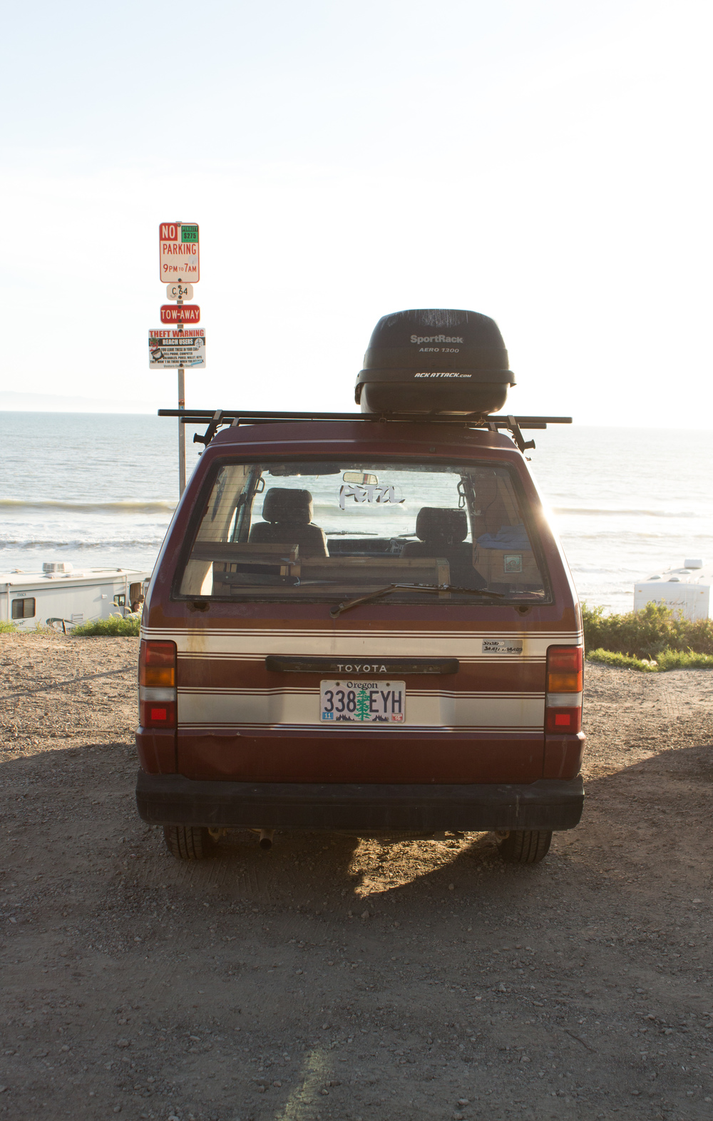 Some serious vanlife envy. Ventura, CA.