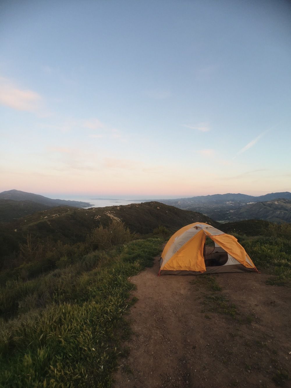 Post up in the Los Padres National Forest, the 'Land of Many Uses.'