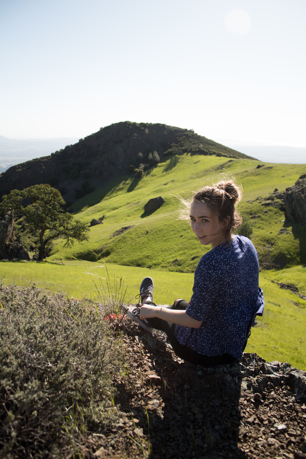 Avrie and I discovered a new place that just made it on our favorites list. We ventured out to Figueroa Mountain outside of Los Olivos, CA after seeing a few photos taken there on social media. We'll definitely be back soon. PS that's a lady bug that landed on her arm.