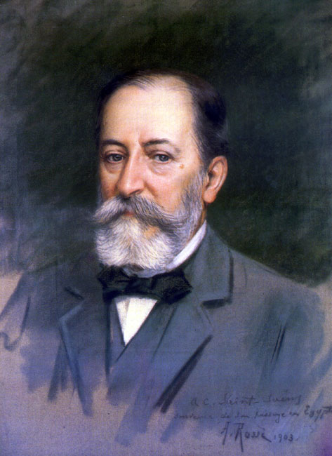 Camille Saint-Saëns 1835-1921