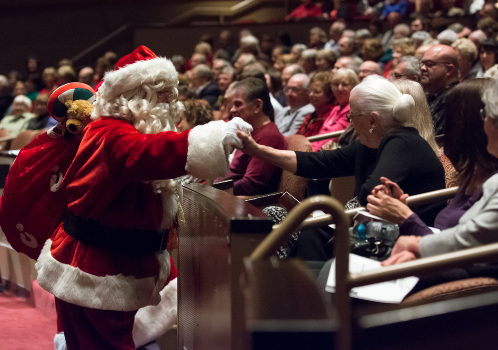 Santa at Holiday Pops