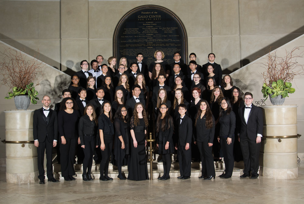 Modesto Symphony Youth Orchestra Group Photo
