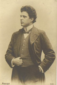 Pietro Mascagni   1863-1945