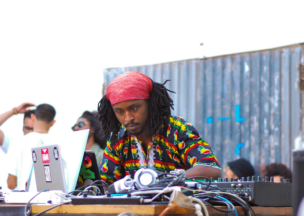 Iman Omari x Beat Haus  , 2015