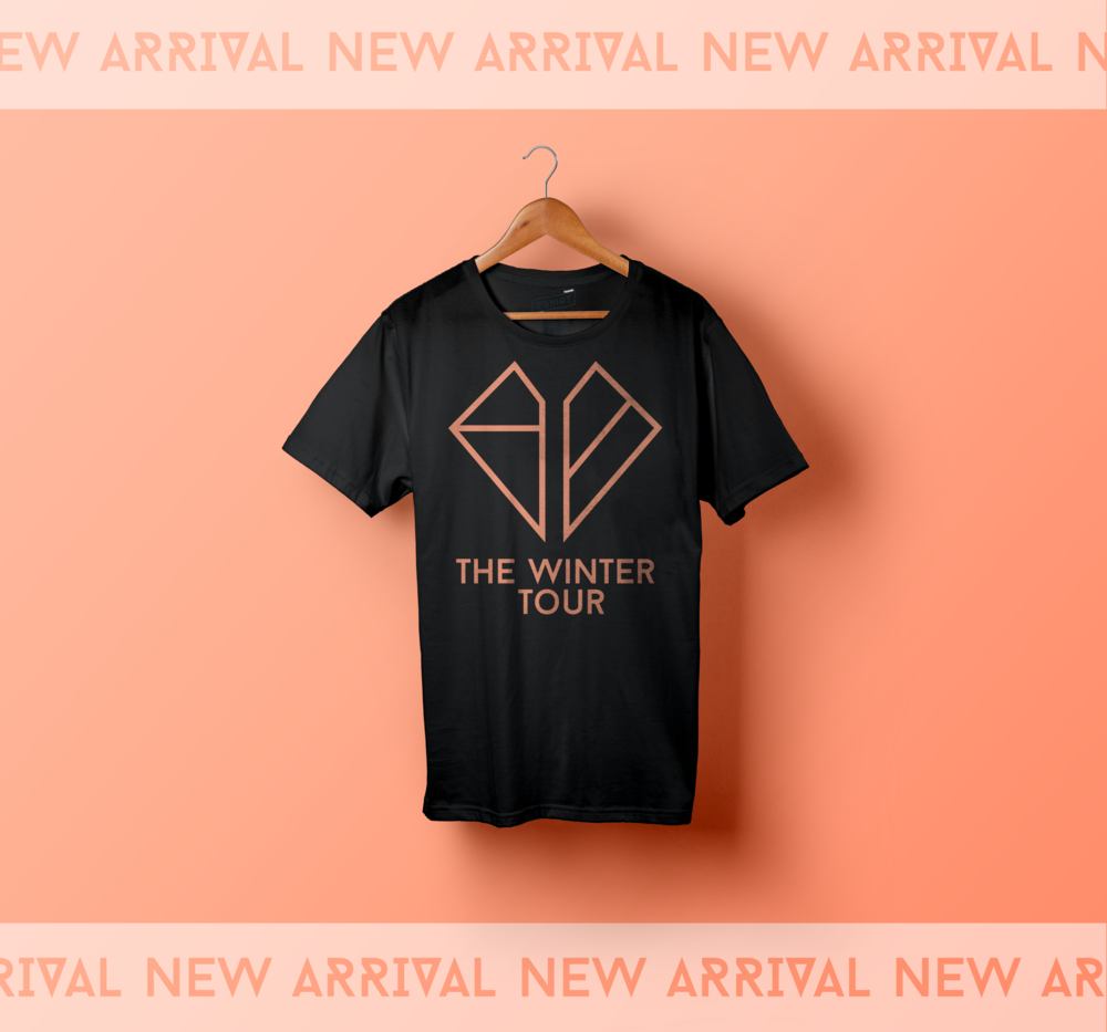 T-Shirt- goodbye  tour 2 salmon .png