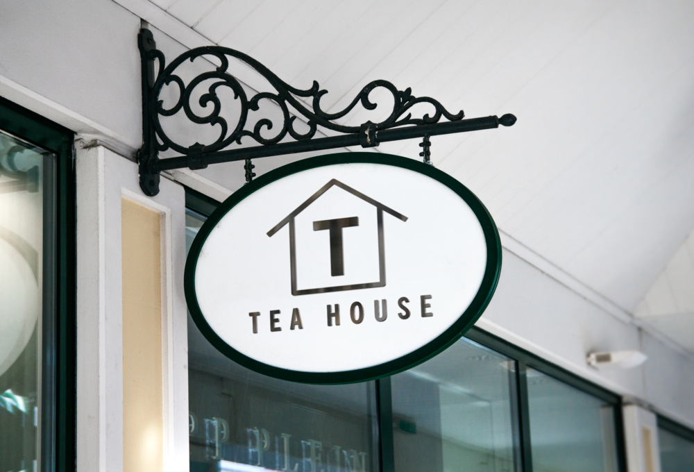 Hanging Wall Sign TEA HOUSE.png