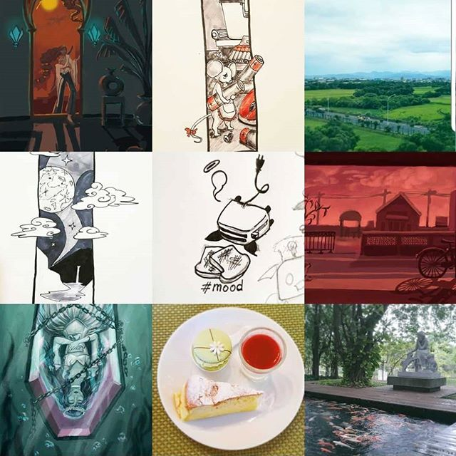 Happy holidays! Seems like you guys like paintings! . . . . . . . . . . . #bestnine2018 #reflection