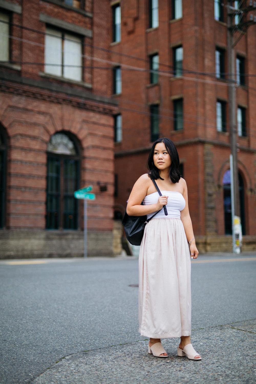 Georgetown Brick Female Portrait