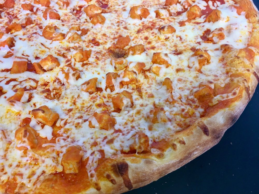 Buffalo Chicken Wing Pizza