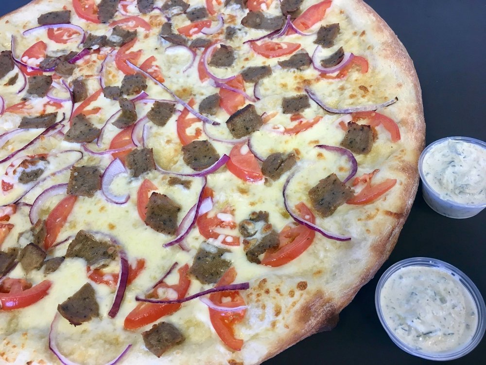 Gyro Pizza