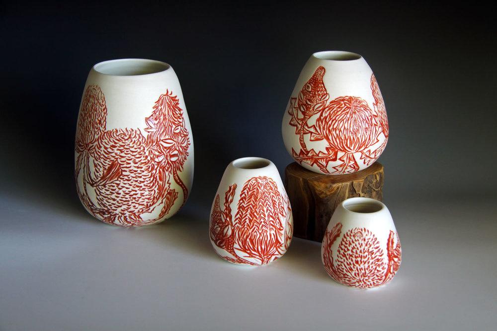 Banksia Vase Collecion