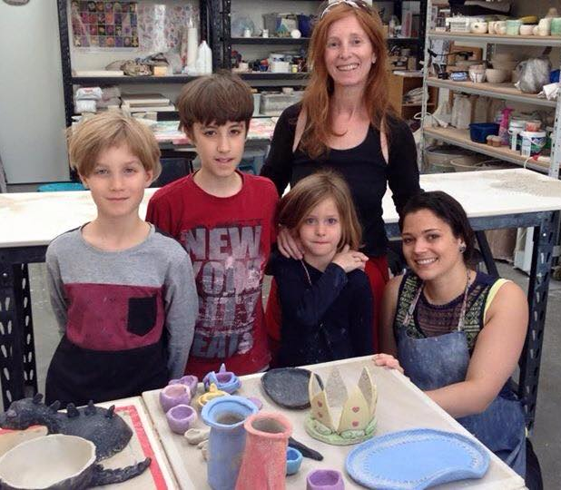 Family Classes- a great way to get out and have some amazing fun, as well as make creative pieces for gifts or for the home.