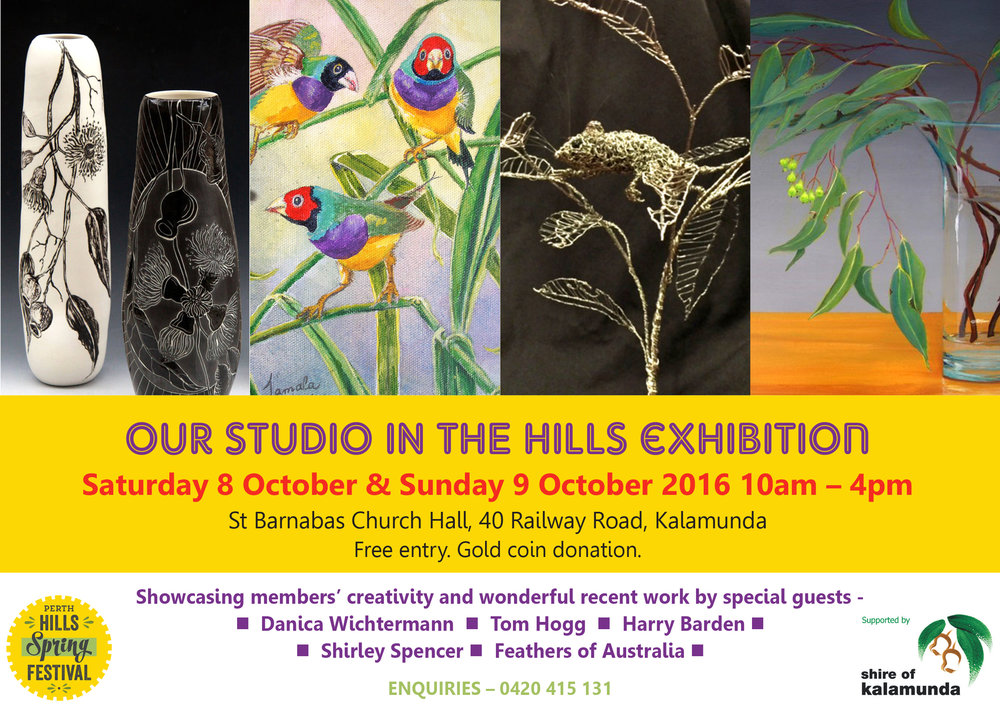 Our Studio in the Hills Exhibition