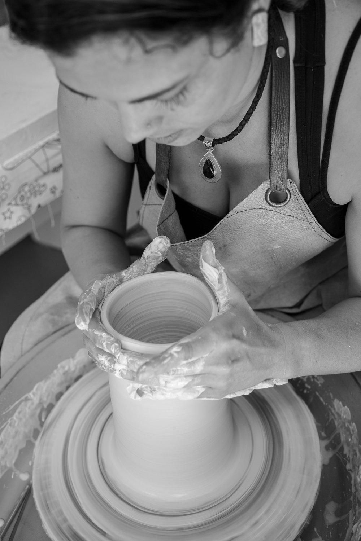 Danica Wichtermann Ceramics Artist