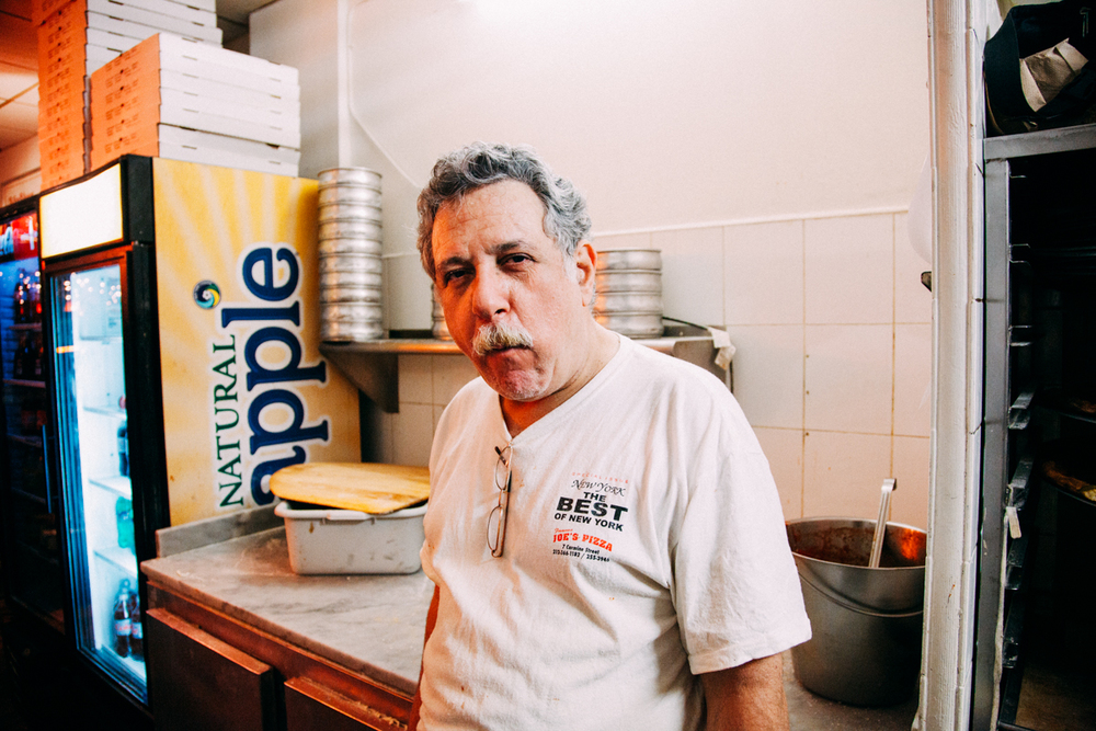 Alex, Maker, Joe's Pizzeria, Greenwich Village