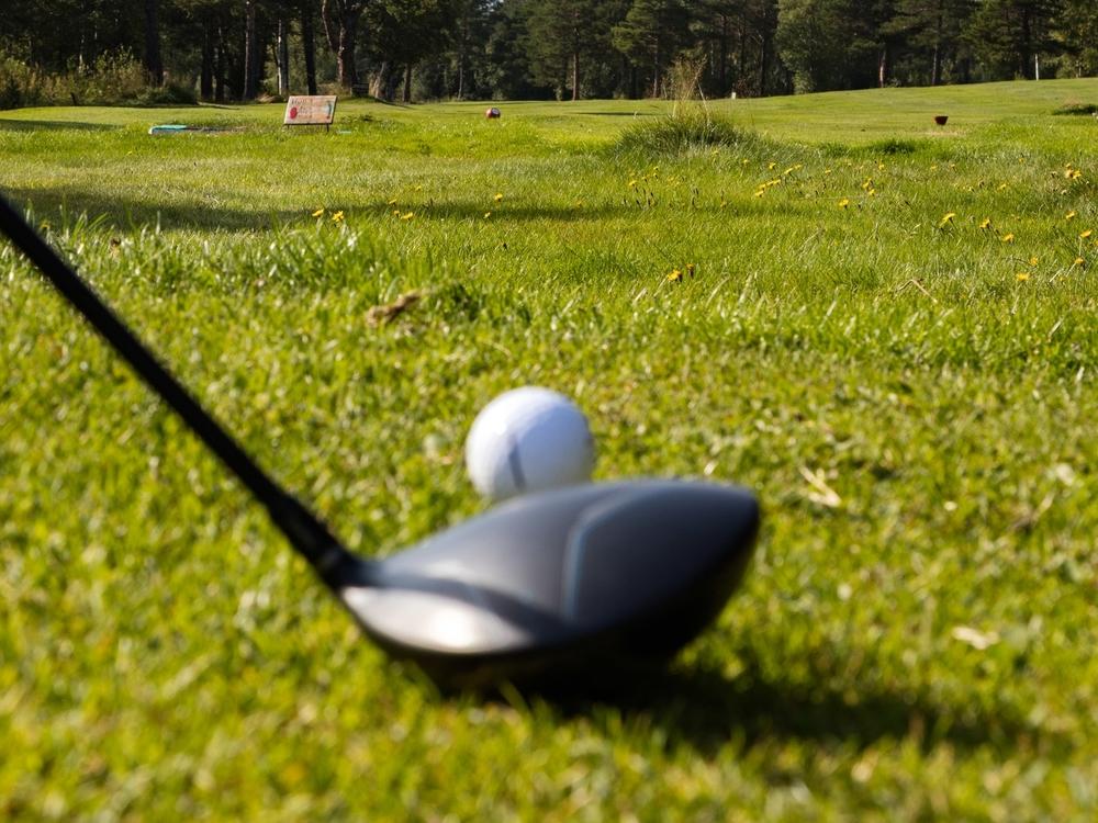 Spill golf på Stjørdal. Foto: Sven-Erik Knoff