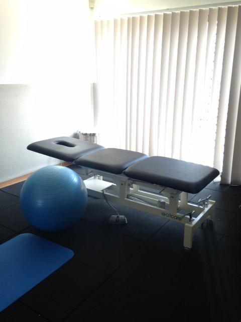 Medical Examination Table & Workout Room @ The Hills Physio - Kellyville Ridge, NSW