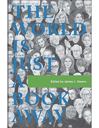 Our book is here! - The World is Just a Book Away is an anthology edited by USC professor James J. Owens that captures the stories of how books and reading inspired some of the world s most prominent people. Recognizing the life-changing nature of reading, Owens set out in 2002 to create this deeply moving book. At first glance, the sixty contributors to this anthology may not seem to have much in common yet they all share their personal love of books and reading in The World is Just a Book Away. This book takes readers on a unique journey through personal stories from five Nobel Peace Prize laureates, actors, royalty, world leaders, scientists, humanitarians, and many more.If you would like to order the book, please CLICK HERENote: If you've read the book, I would be very grateful for an Amazon review  - it can make a real difference in getting people excited to buy a copy!