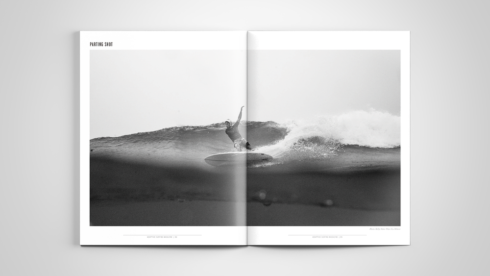 Adaptive Surfing Magazine by Owl House Creative