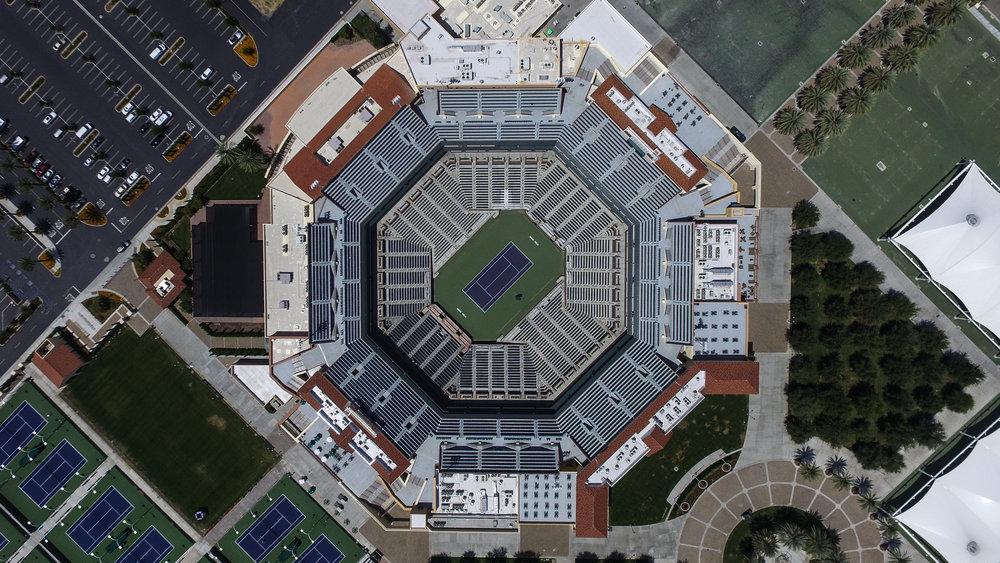 Watkins Landmark - Indian Wells Tennis Gardens by Owl House Creative
