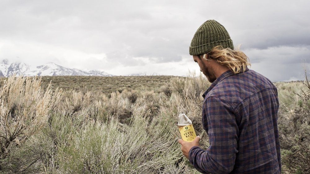 Owl House Creative - Guayaki Mammoth Hot Springs Campaign
