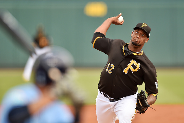 Juan Nicasio's intimidation factor is through the roof. Courtesy Ronald C. Modra/Getty Images.