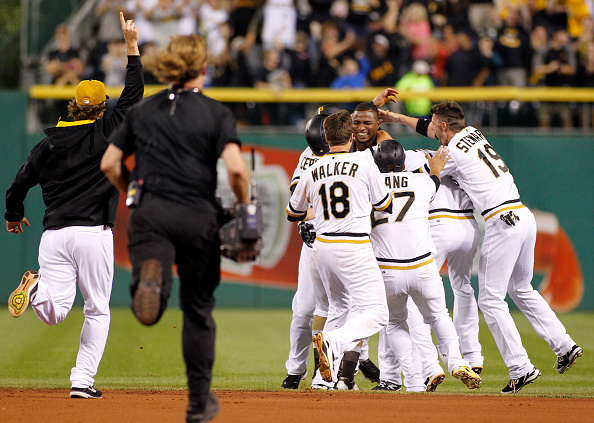 Will the Buccos celebrate like this come October? Courtesy of Justin K. Aller/Getty Images