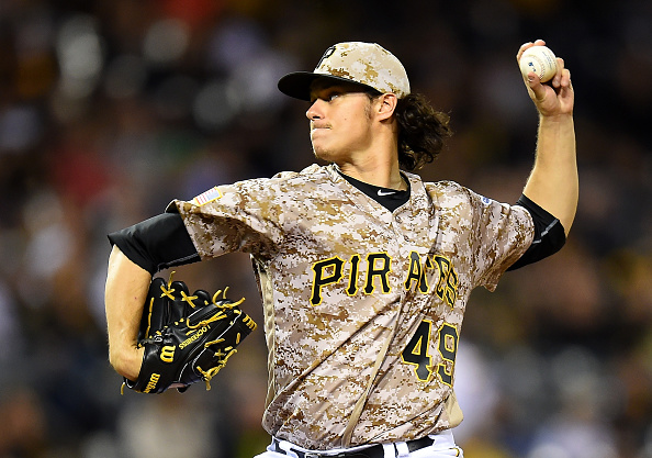 God those camo uniforms are ugly, and they're coming to assault your eyes tomorrow. Courtesy Joe Sargent/Getty Images.
