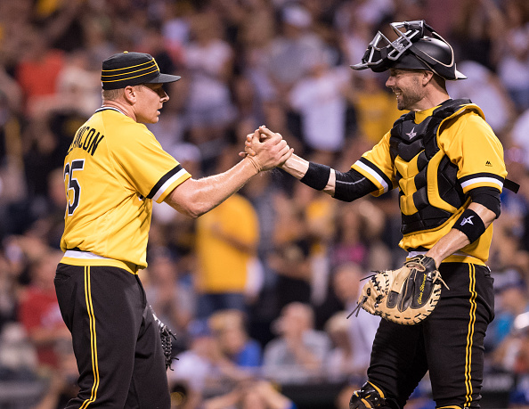 Positivity! The Pirates can still do this! Courtesy Justin Berl/Getty Images.