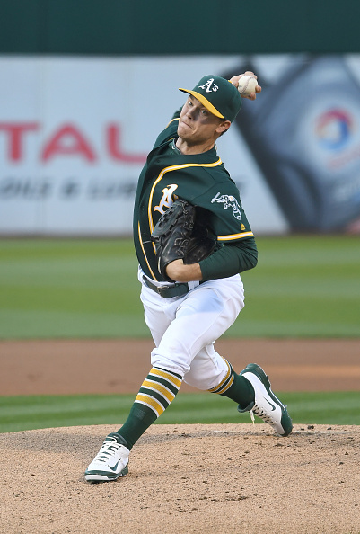 Sonny Gray is buy low, but will he stay low? Courtesy Thearon W. Henderson/Getty Images.