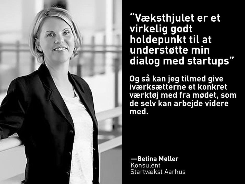 Betina Møller, Startvækst Aarhus