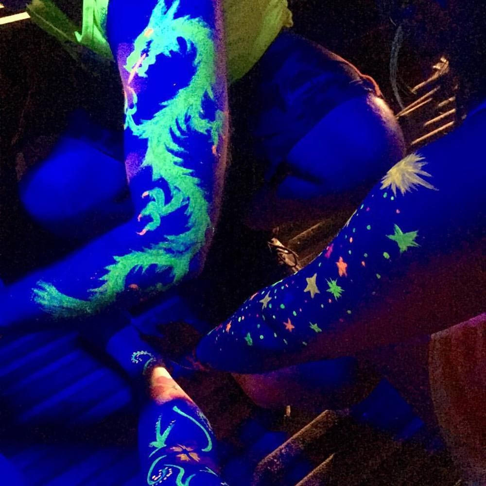 at Full Moon Party - Koh Phangan