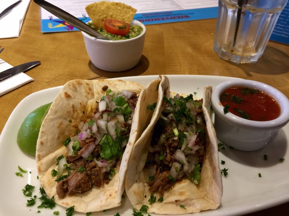 Edinburgh, Scotland    Tacos. Because you can't have just one. Not pictured: other, already eaten tacos 😋