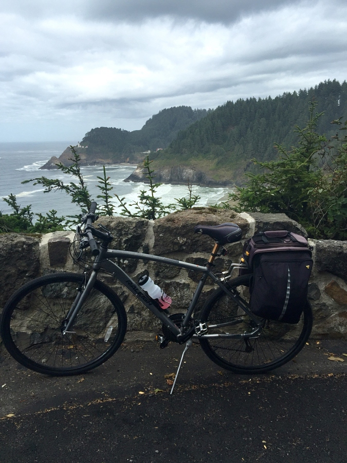 Oregon Coast Cycle Route